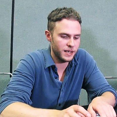 Iain de Caestecker( Fitz; Agents of Shield)..hes so freakin cute ❤