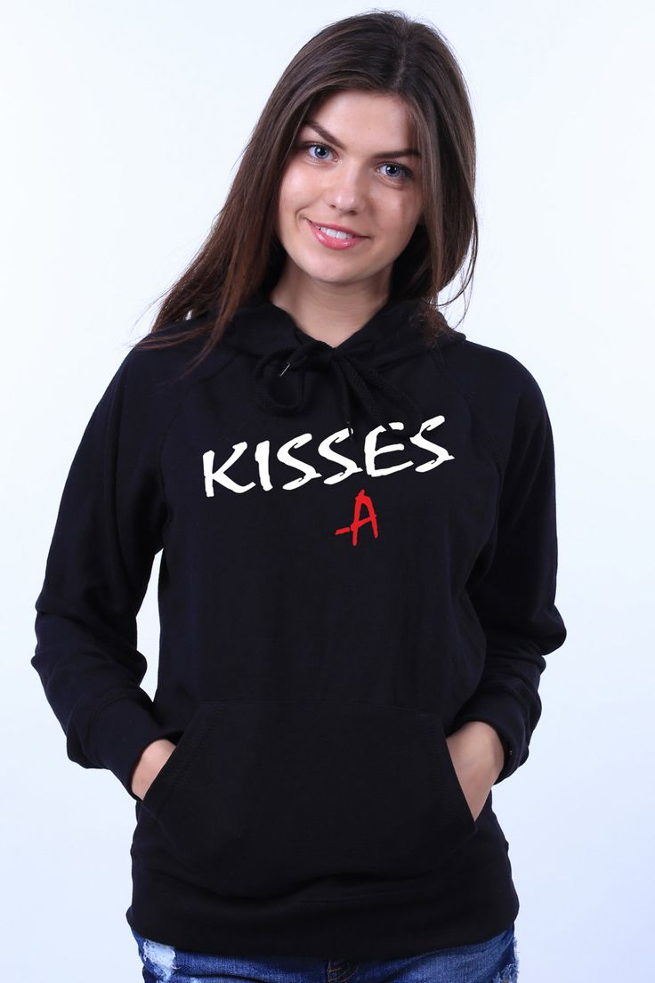 Pretty Little Liars Kisses A PLL Fan Clothing Light Weight Sweatshirt Hoodie Jumper by LinkTee on Etsy https://www.etsy.com/listing/243911538/pretty-little-liars-kisses-a-pll-fan