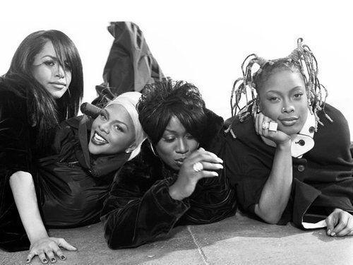 Aaliyah. Lil Kim. Missy Elliott. Da Brat.   Sigh...... I miss so many things about this photo.
