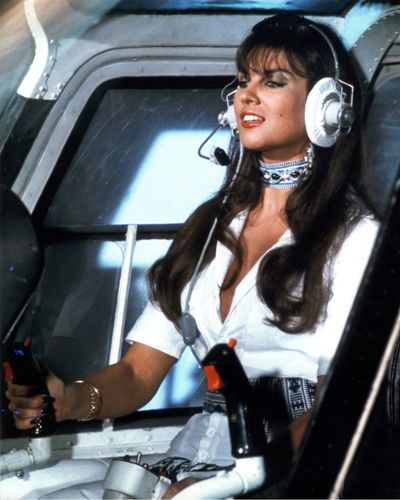 "Caroline Munro as Naomi in ""The Spy Who Loved Me"" (1977) #bondgirl"