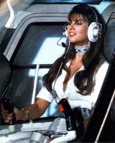 """Caroline Munro as Naomi in """"The Spy Who Loved Me"""" (1977) #bondgirl"""