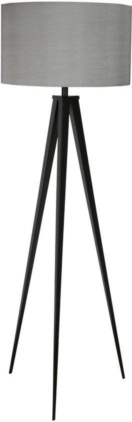 Zuiver Tripod - Leeslamp - Zwart/grijs