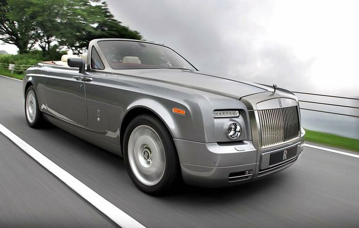 """2010 Rolls-Royce Phantom Drophead Coupe.  A car with that many names can't help but be AWESOME.  This is my """"I just won the lottery"""" car."""