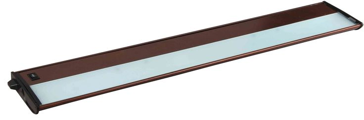"Maxim 87844 40"" 5 Light Linkable Xenon Under Cabinet Light from the CounterMax C Metallic Bronze Indoor Lighting Under Cabinet Light Bars"