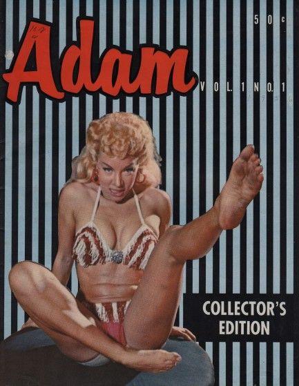 Adam Magazine Pin-Up Girl Photographs December 1978 VG