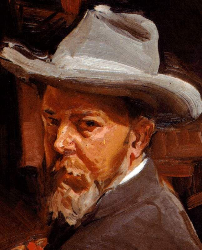 Joaquín Sorolla (1863-1923) fue un pintor español. Su obra madura ha sido etiquetada como impresionista, postimpresionista y luminista. Supo retratar el vitalismo de la burguesía del tiempo. Sorolla hace parte del período del Realismo y Naturalismo.