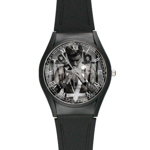 GStore Justin Bieber Purpose Sorry Poster Wrist Watch as a Nice Gift ** Want to know more, click on the image.Note:It is affiliate link to Amazon.
