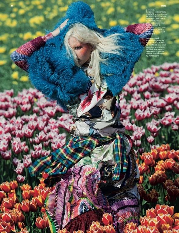 Photo:  Vivienne Sassen fashion editorial
