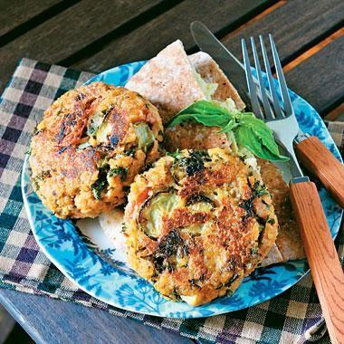 Food Recipe: Tabbouleh Burger Recipe