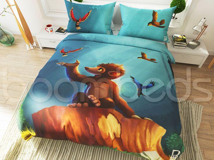 Mole Monkey Bedding – Tree Stump - boombeds!