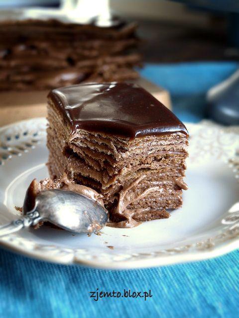 Chocolate Napoleon | Czekoladowy Napoleon (in Polish)