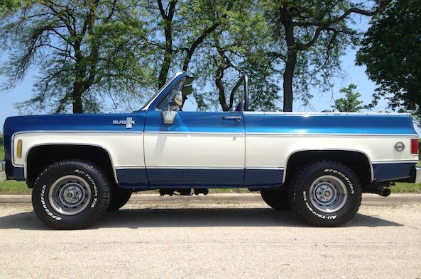 blue 1975 chevy k5 blazer | PHOTOS: See more of the Chevrolet K5 Blazer
