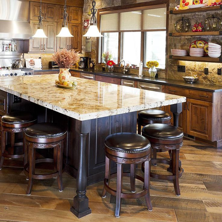 12 Inspiring Kitchen Island Ideas: This Great Kitchen Touch Is An Inspiring Ideas With Easy