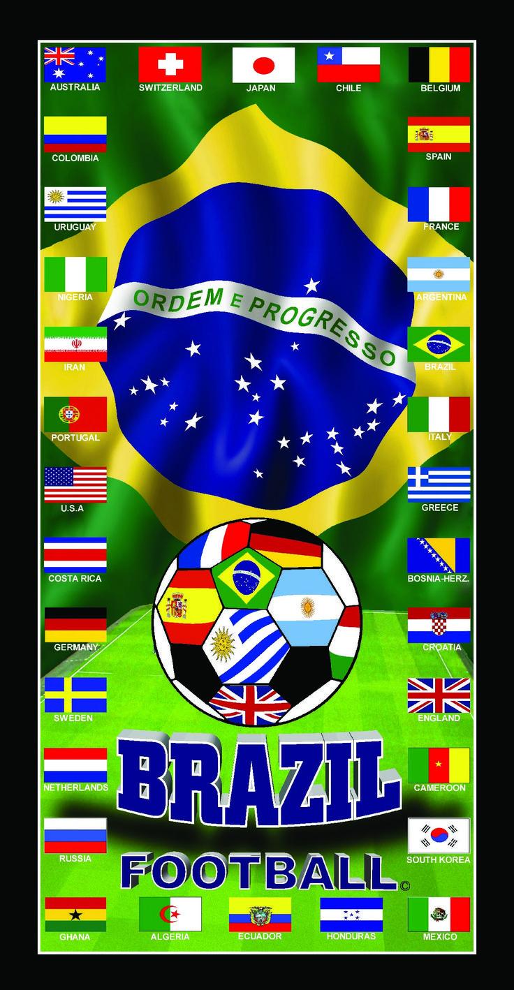 http://www.wonderplanetx.com  La major toalla copa mundo Brasil