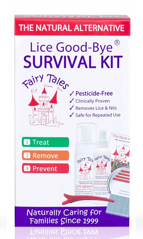 Fairy Tales Lice Good-Bye® Survival Kit Giveaway #backtoschool