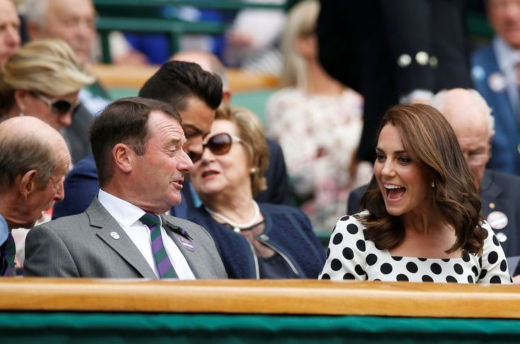 The Duchess of Cambridge watched Andy Murray at Wimbledon