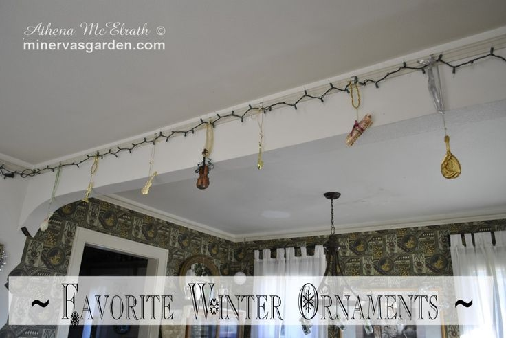 Minerva's Garden:  Favorite Winter Ornaments