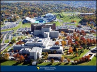WVU Hospital-I worked in the med. school library in 1966...it's grown a lot!