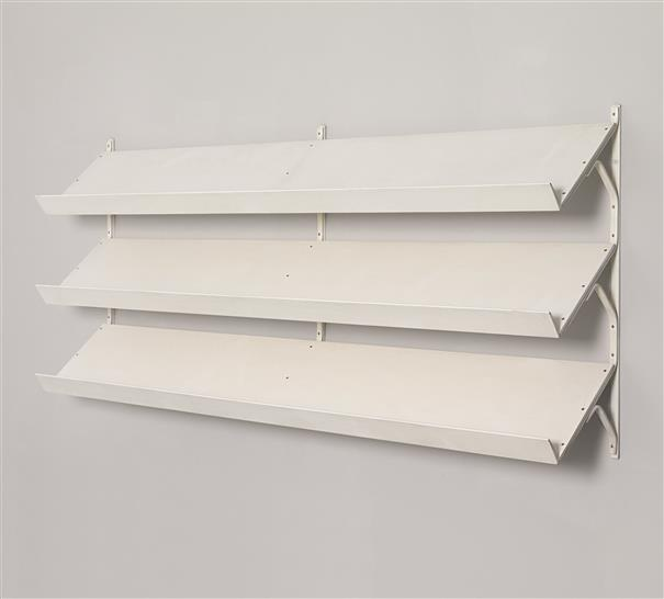 PHILLIPS : UK050311, BRUNO MATHSSON, Rare set of 'Anita' shelves