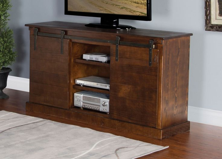 Crafted from new zealand pine the lawson 62inch tv stand