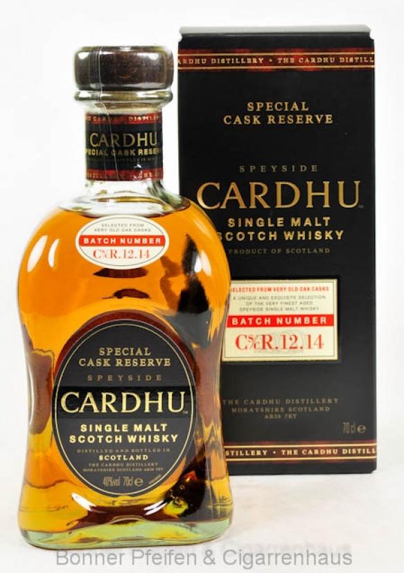 Cardhu Whisky Special Cask Reserve