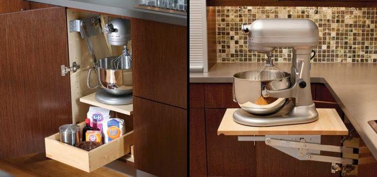 Kitchen cabinet storage ideas google search kitchen for Storage ideas for small kitchen appliances
