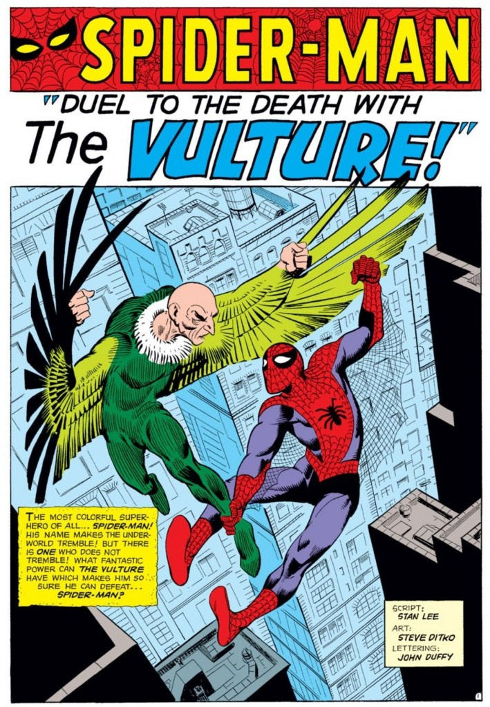 147 Best Steve Ditko Spider-Man Art Images On Pinterest -9774