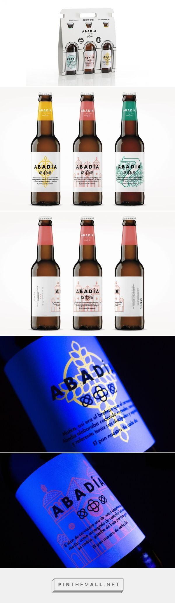 Abadía española. Creating a brand and a packaging for an artisan beer