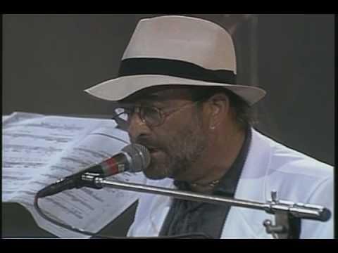 """Lucio Dalla e Pavarotti """"Caruso"""" live"""