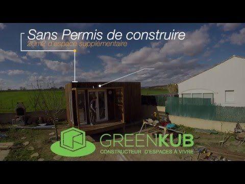 Greenkub | extension de maison et studio de jardin