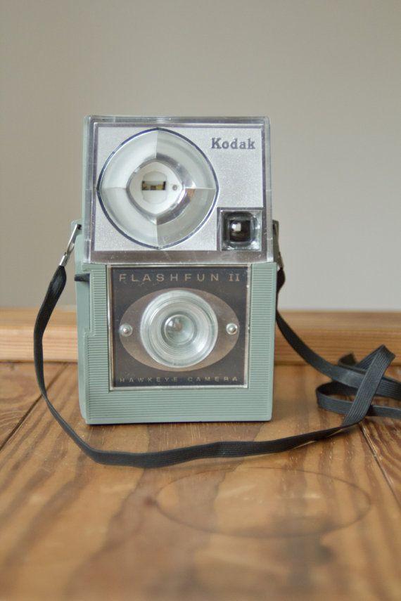 Kodak Flashfun II  Vintage Lomography  - Lomo ready cameras   - Vintage collectible cameras    www. Etsy.com/VintageLomography
