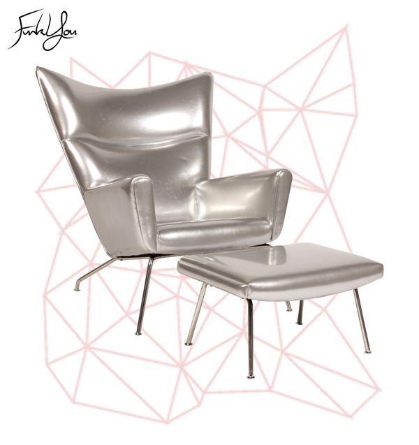 Baron Lounge Chair - Silver. www.funkyou.com.au