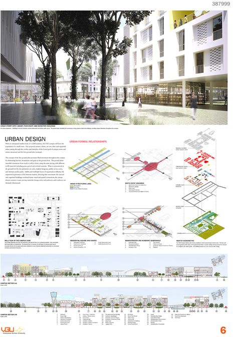Layout Winners of the Competition for the New Campus of the Vietnamese-German University