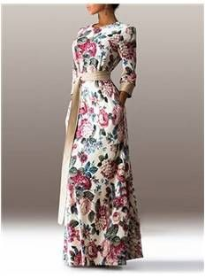 Floral Maxi Dress - Code Women