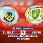 Burnley 2-0 Yeovil
