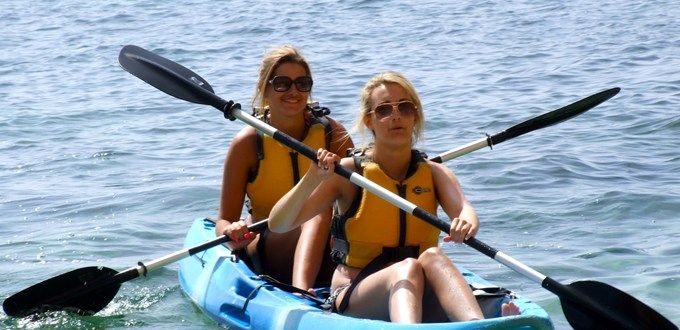 #kayaking #kids #holidays  The kayak trip at Lagos is suitable for beginners and a safety boat is on hand for the duration of the trip.  Safety is a high priorty and life jackets are mandatory. Suitable for children over 6 years olds.  http://www.greatholidaylocations.com/things-to-do/choose-an-activity/kayak-experience/