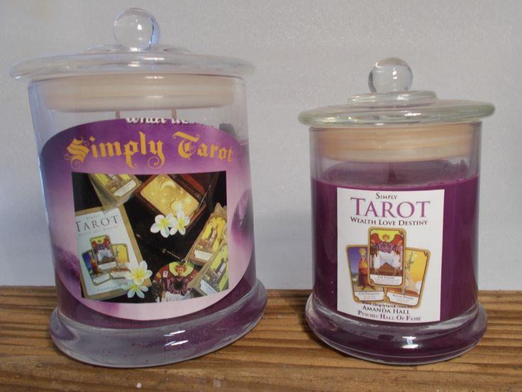 Simply Tarot to enhance your readings. Hand poured 100% Eco friendly Natural Soy Candle range