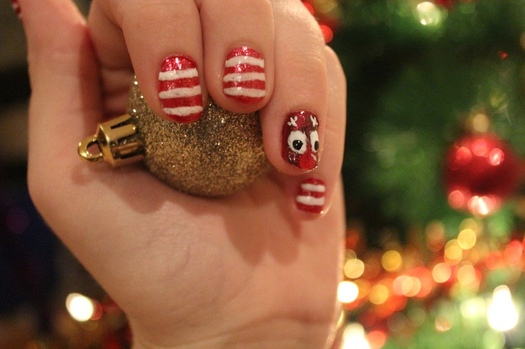 Christmas Nails! :) painted them myself
