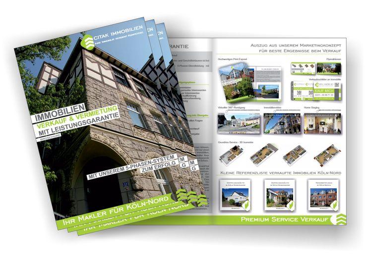 Broschüre Verkauf Immobilien Köln - Citak Immobilien