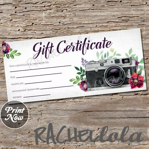 Free Photo Session Gift Certificate Template Unique Red Floral Cam Gift Certificate Template Photography Gift Certificate Template Photography Gift Certificate
