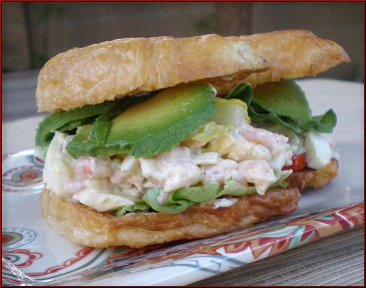 Make and share this Shrimp Salad Sandwich (Paula Deen) recipe from Food.com.