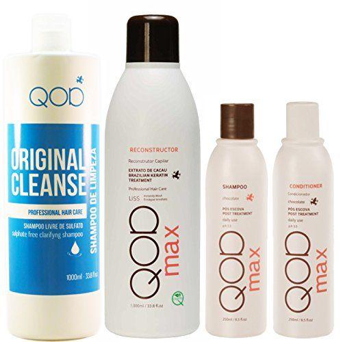 Brazilian Keratin Hair treatment QOD MAX complete kit