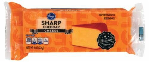 Krogers sharp cheddar cheese is vegetarian and halal  I called the