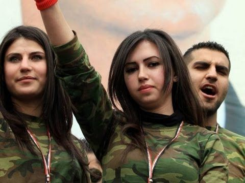 Documentary on Syrian Volunteers (National Defense Forces) incl. Syrian ...