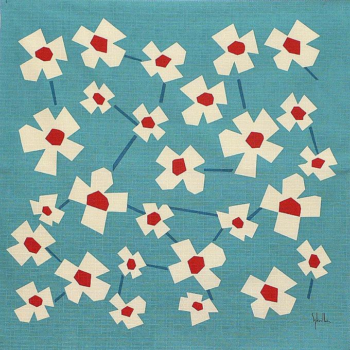 Furoshiki. Japanese Fabric.Wrapping Cloth.Fabric Wrap.Small Size Cotton.Small Size Furoshiki.Cotton Fabric.Bento Goods.fabric gift wrap. ¥1,500, via Etsy.