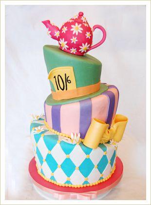 Ugly Alice Birthday Cake