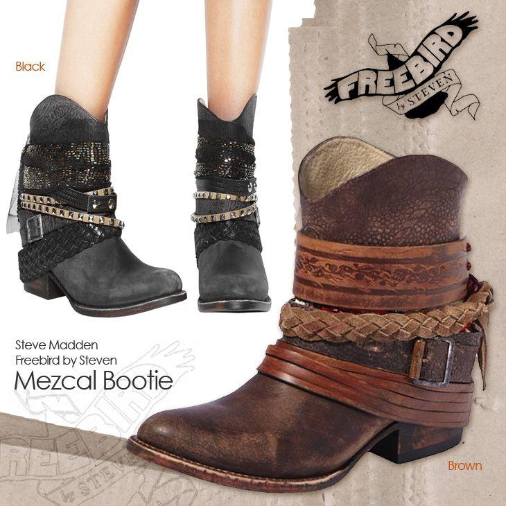 Rakuten: FREEBIRD BY STEVEN-free bird Mezcal Boot female Cal belt ankle western boots- Shopping Japanese products from Japan