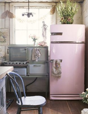 If Gimi would let me buy a pink fridge...