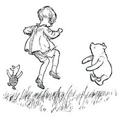now i am six a a milne picture colouring in - Google 搜尋