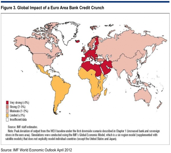 MAP: How The Euro Banking Crisis Is Slamming The Global Economy